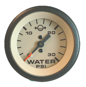 how to use a water pressure gauge