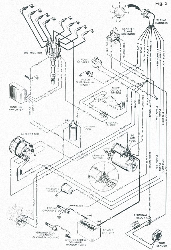 a to z of stern drive electrical systems Regal Wiring Diagram OMC Cooling Diagram omc stern drive wiring diagram
