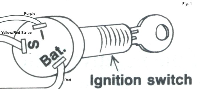 Igfig on Mercruiser Key Switch Wiring Diagram