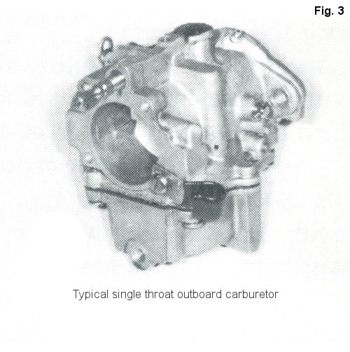 Outboard boat motor fuel system